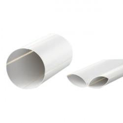 Канал круглый складывающийся (1м)-100 мм