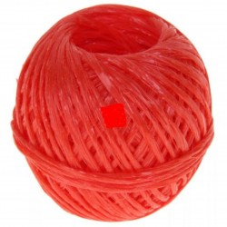 Шпагат ПП 1000 Текс, красный, 60м