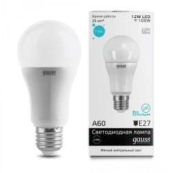 Лампа светодиодная Gauss LED Elementary A60 12W E27 1150lm 4100K