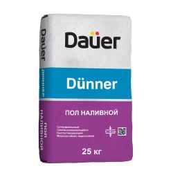 Пол наливной тонкослойный DAUER DUNNER, 25 кг
