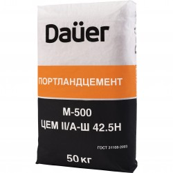 Цемент DAUER M-500 ЦЕМII/А-Ш 42,5Н 50 кг