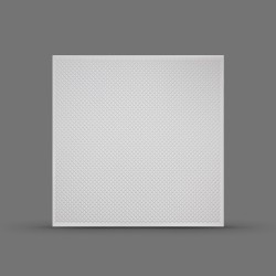 Панель облицовочная 3D РАКИТТА 595х595х3 белая