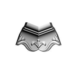 Угловой элемент Glanzepol GP-40 /4шт/