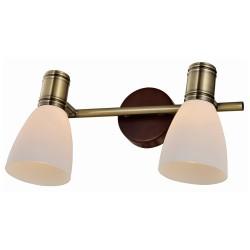 Спот SHARYL TL3720Y-02BB Toplight, античная бронза, коричневый, E14, 2*40W