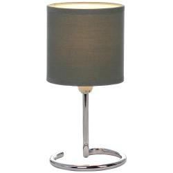Лампа настольная Globo 24639DG, темно-серый, E14, 1*40W