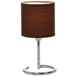 Лампа настольная Globo 24639DB, темно-коричневый, E14, 1*40W