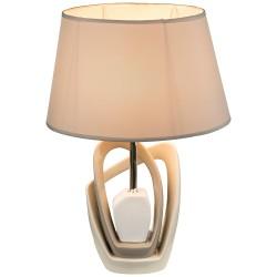 Лампа настольная Globo 21642T, бежевый, E27, 1*40W