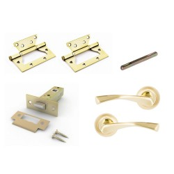 Комплект для двери Фабрика замков  FZ SET 03-C 100 2H SG(матовое золото)