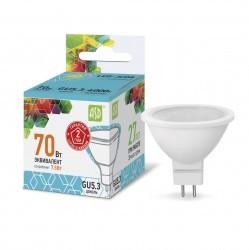Лампа светодиодная ASD LED-JCDR-standard 7.5Вт 230В GU5.3 4000К 675Лм