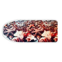 Чехол для гладильной доски 125*47см (д/доски 120*42см) х/б+поролон, Zalger 520103