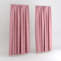 Портьера 165*270 на тесьме, розовый, ERT SOFT-13/280 PS