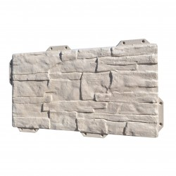 Панель фасадная Hardplast 440*220мм, сланец серый