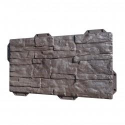 Панель фасадная Hardplast 440*220мм сланец коричневый