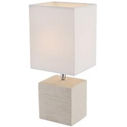 Лампа настольная Globo 21675, бежевый, E14, 1x40W