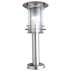 Светильник уличный Globo 3153, матовый хром, E27, 1x60W