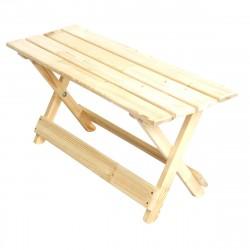 Скамейка раскладная деревянная