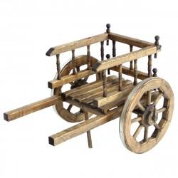 Арба малая деревянная декоративная
