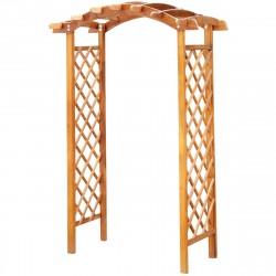 Арка деревянная 1,5м фанерная крыша