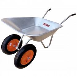 Тачка двухколесная садовая, 85л, колесо 3.25/3.00-8, обод метал, грузопод. 120 кг., ТОРН 92085