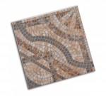 Керамогранит глазуров. Мозайка ПЕРСИЯ 33*33 коричневый 723162