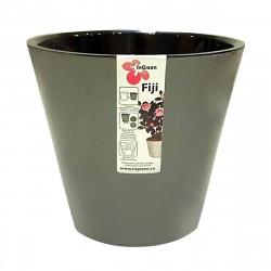 Горшок для цветов Фиджи D23см 5л графит
