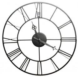 Часы настенные Artlink Black Metal Clock 40x40см 79806