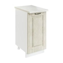 Шкаф-стол рабочий 1С400 Женева (MBP 9187-3 Лиственница приморская)