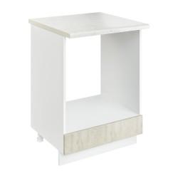 Шкаф-стол рабочий под духовку СД 600 Женева (MBP 9187-3 Лиственница приморская)