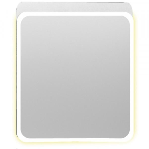 зеркало-шкаф 70cм vitra d-light белый с подсветкой