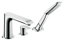 Смеситель для ванны Hansgrohe Metris 31190000
