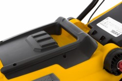 Газонокосилка электрическая GC-1500, 1500Вт, Ш.36см, 6 уров., пласт. травосб. 40 л. 14.2кг DEN 96606