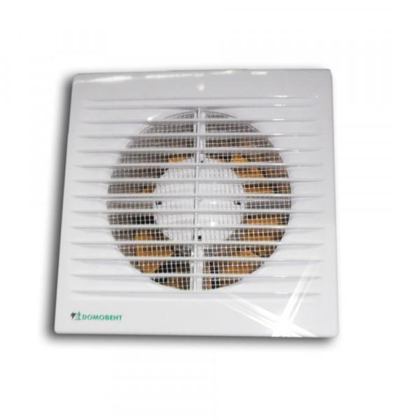 Фото - вентилятор вытяжной осевой накладной 125мм домовент 125с белый, с моск. сеткой, домовент вентилятор вытяжной осевой накладной 100мм euro 4s 02 белый с моск сеткой и тяговым выключ эра