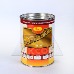 Краска БТ-177 1.0л золотистая