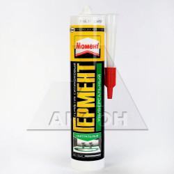 Герметик силиконовый HENKEL Момент Гермент нейтр. универсальный прозрачный 280мл 551605