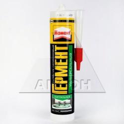 Герметик силиконовый HENKEL Момент Гермент нейтр. универсальный белый 149710