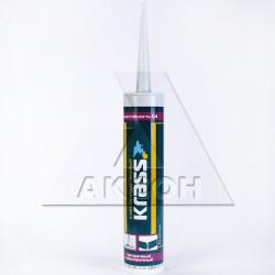 Клей KRASS полиуретан. D4 300мл бесцветный