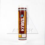Клей KRASS монтажный для изделий из ПВХ и металла 300мл бежевый