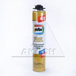 Пена монтажная JOBI 750мл 65 проф. всесезонная 15792