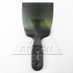 Шпатель нерж. 80мм с пласт. ручкой EUROTEX 020605-080