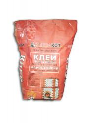 Клей термостойкий усиленный ТЕРРАКОТ, 5 кг