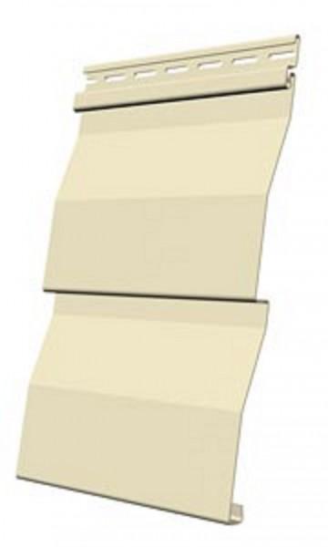 сайдинг docke premium, d4.5d, цвет банан, 3.6 м