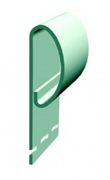 профиль финишный docke premium, цвет киви, 3 м
