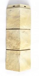 Угол внешний для фасадной панели Docke FELS, цвет слоновая кость, 0.425 м