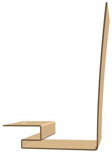 профиль околооконный docke premium, цвет карамель, 3.6 м