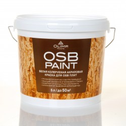 Краска акриловая OLIMP для OSB-плит 5л