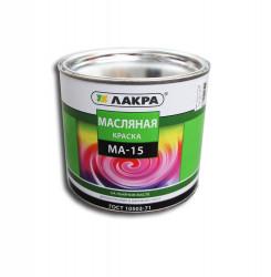 Краска МА-15 белая 1,9кг /Лакра/