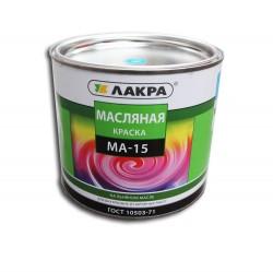 Краска МА-15 голубая 1,9кг /Лакра/