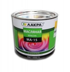 Краска МА-15 желтый 1,9кг /Лакра/