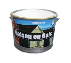 Краска-лазурь Мэзон ан буа, база А 9,0л ВД для защиты, декоративной отделки дер. изделий