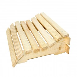 Подголовник  деревянный анатомический